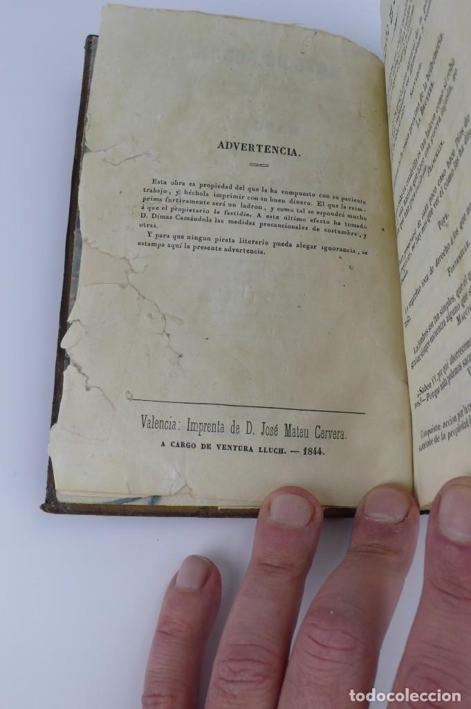 Libros antiguos: Dímas,Camándula- Arte de Robar explicado en beneficio de los que no son ladrones- año 1.844 - Foto 6 - 108287127