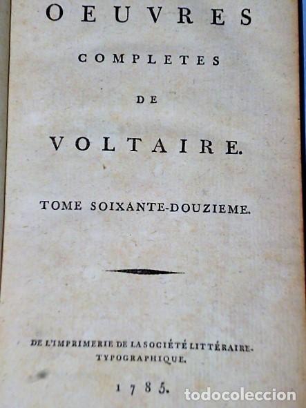 Libros antiguos: RECUEIL DES LETTRES DE M. DE VOLTAIRE 1754- 1757 - Foto 2 - 108289315