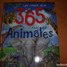 Libri antichi: LEE CADA DIA 365 CURIOSIDADES DE ANIMALES. Lote 108299147