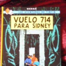 Libros antiguos: TINTIN VUELO 714 PARA SIDNEY. EN ESPAÑOL.SEGUNDA EDICION. 2010 (IMPECABLE). Lote 217731885