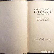 Libros antiguos: GIDE : PROMETHEUS ILLBOUND (1ª ED. EN INGLÉS DE LA OBRA DE GIDE. 1919. Lote 108357411