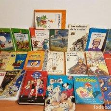 Libros antiguos: LOTE 22 LIBROS DE NOVELAS INFANTILES Y JUVENILES VARIAS EDITORIALES. Lote 108403599