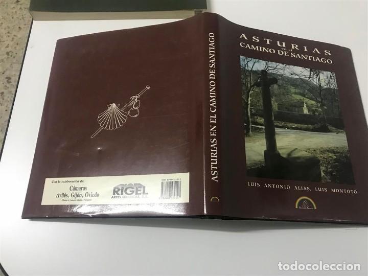 Libros antiguos: Asturias en el Camino de Santiago. Luis Antonlio Alias, Luis Montoto. - Foto 2 - 108404251