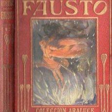 Libros antiguos: ARALUCE : FAUSTO DE GOETHE (1933) ILUSTRADO POR SEGRELLES. Lote 108509703