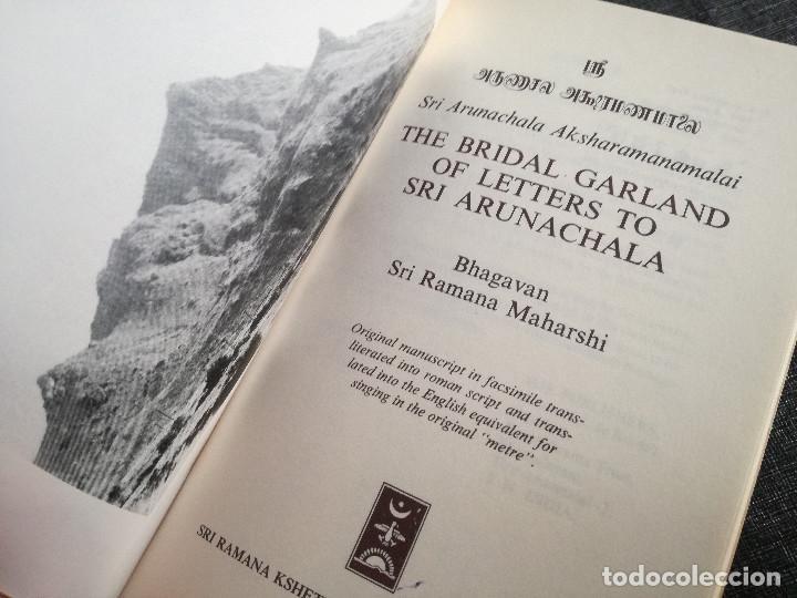 Libros antiguos: SRI ARUNACHALA AKSHARAMANAMALAI - THE BRIDAL GARLAND OF LETTERS - SRI RAMANA MAHARSHI - HINDUISMO - Foto 2 - 108800179