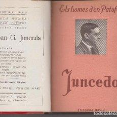Libros antiguos: ELS HOMES D'EN PATUFET 1925 COMPLET EDITORIAL DAVID FOLCH I TORRES JUNCEDA CORNET IL-LUSTRAT. Lote 108807767