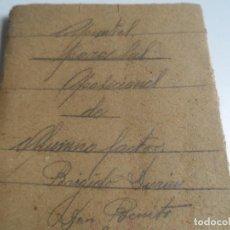 Libros antiguos: APUNTES PARA LOS ALUMNOS DE FERROCARRILES OPOSICIONES DE FACTOR AÑO 1928 IMPRENTA LA RAFA MADRID . Lote 108831927