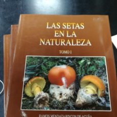Libros antiguos: LAS SETAS EN LA NATURALEZA TRES TOMOS POR RAMON MENDAZA RINCON DE ACUÑA. Lote 108854963