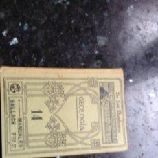 Libros antiguos: GEOLOGÍA 14 MANUALES GALLACH. Lote 108899786