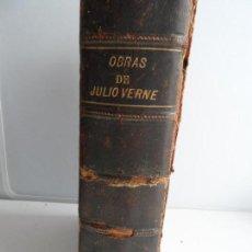 Libros antiguos: 1869 JULIO VERNE - NUMEROSAS NOVELAS ILUSTRADAS CON GRABADOS IMPRENTA DE GASPAR MY ROIG EDITORES. Lote 108917219