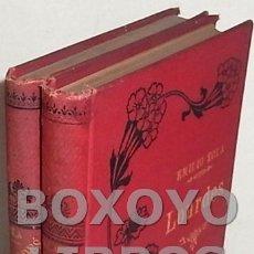 Libros antiguos: ZOLA, EMILIO. LOURDES. TOMOS I Y 2. Lote 105139280