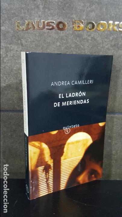 EL LADRON DE MERIENDAS. ANDREA CAMILLERI. QUINTETO SALAMANDRA 2003. (Libros antiguos (hasta 1936), raros y curiosos - Literatura - Narrativa - Otros)