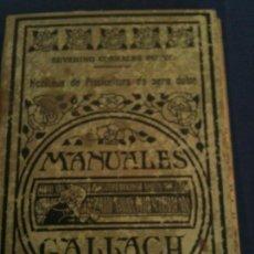 Libros antiguos: NOCIONES DE PISCICULTURA DE AGUA DULCE-SEVERINO CORRALES PUYOL. Lote 108990243