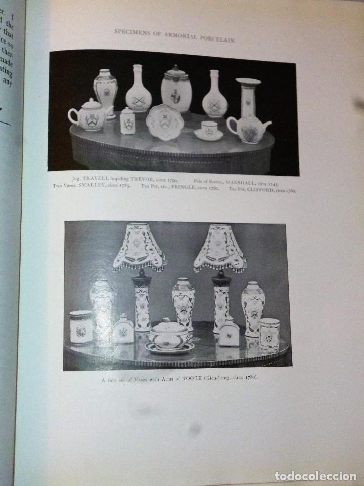 Libros antiguos: ARMORIAL PORCELAIN OF THE EIGHTEeNTH CENTURY (1925) - Foto 5 - 109055747