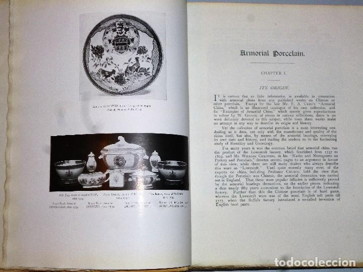 Libros antiguos: ARMORIAL PORCELAIN OF THE EIGHTEeNTH CENTURY (1925) - Foto 6 - 109055747