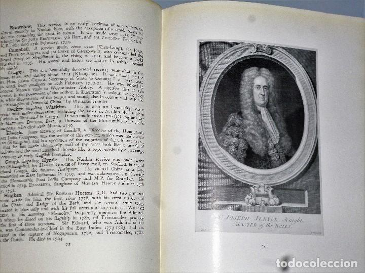 Libros antiguos: ARMORIAL PORCELAIN OF THE EIGHTEeNTH CENTURY (1925) - Foto 11 - 109055747