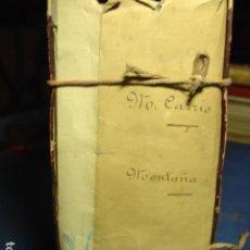 Libros antiguos: LEGAJO CON EXHAUSTIVA DOCUMENTACIÓN SOBRE LA BATALLA DEL BRUCH DEL AUTOR DE ELS MANRESANS AL BRUCH.. Lote 109064783