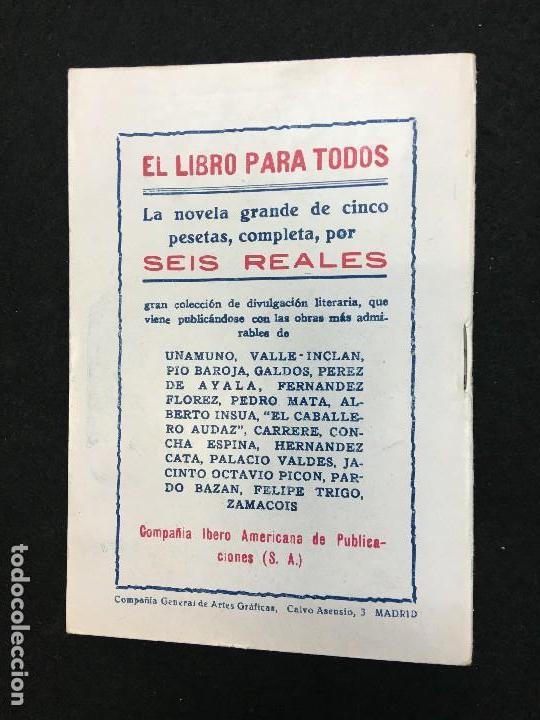 Libros antiguos: La Novela de Hoy. Año VIII. Madrid,1929. nº 369. R. Blanco-Fombona.- Una mujer como hay muchas. - Foto 3 - 109110031