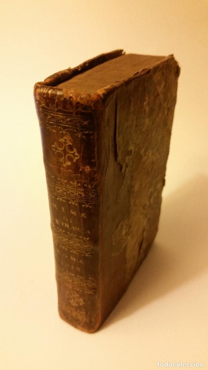1813 - PETRARCA - RIME (Libros Antiguos, Raros y Curiosos - Otros Idiomas)