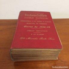 Libros antiguos: LIBRO ANTIGUO HISTORIA DEL ARTE AÑO 1894 / LIBRO D.FRANCISCO DE P.VALLADAR / FRANCISCO VALLADAR. Lote 109136018