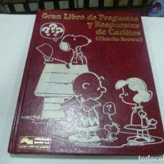 Libros antiguos: GRAN LIBRO DE PREGUNTAS Y RESPUESTAS DE CARLITOS TOMO 6-SNOOPY. Lote 109294435