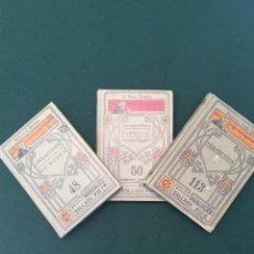Libros antiguos: LOTE DE 3 LIBROS DE MANUALES GALLACH. Lote 109353551