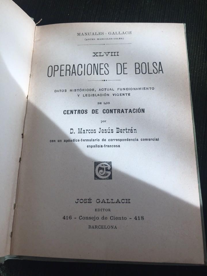 Libros antiguos: LOTE DE 3 LIBROS DE MANUALES GALLACH - Foto 6 - 109353551