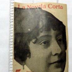 Libri antichi: LA NOVELA CORTA. COLOMBINE. 21 DE JULIO 1917. MADRID. NUMERO 81. Lote 109450163