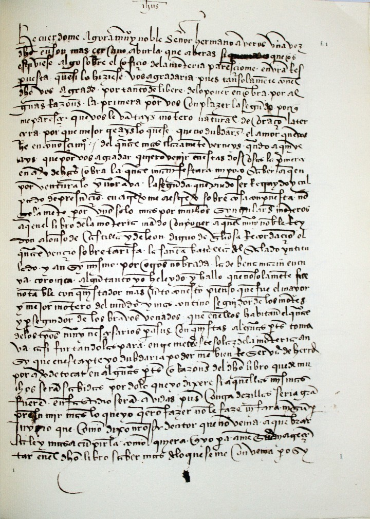 Libros antiguos: TRATADO DE MONTERÍA DEL SIGLO XV. Manuscrito del Museo Británico, publicado y anotado por - ALMAZAN - Foto 2 - 109022579