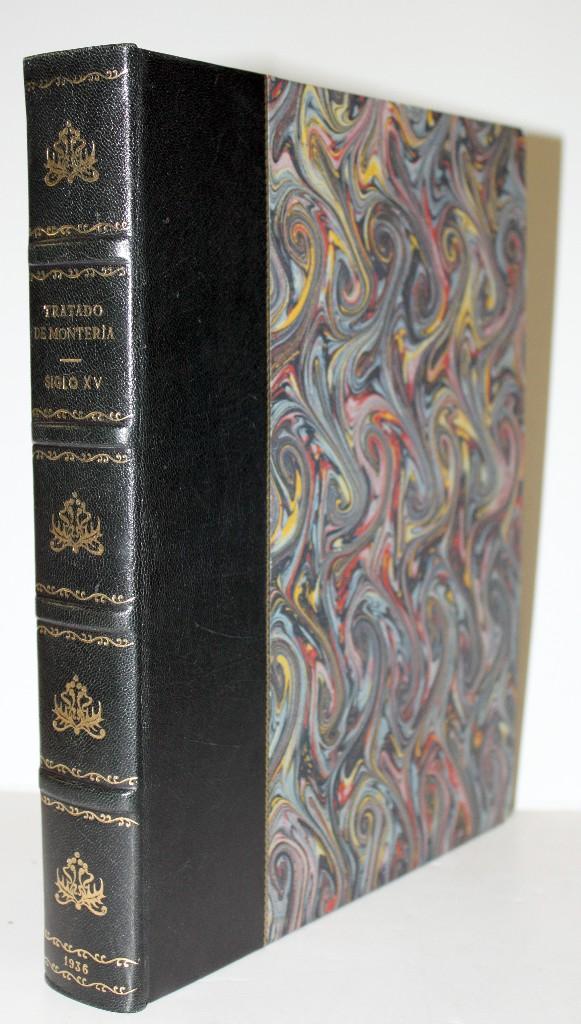 Libros antiguos: TRATADO DE MONTERÍA DEL SIGLO XV. Manuscrito del Museo Británico, publicado y anotado por - ALMAZAN - Foto 3 - 109022579
