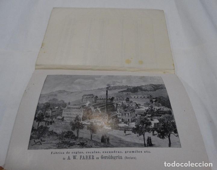 Libros antiguos: REGLA DE CÁLCULO A.W. FABER STEIN (NUREMBERG) 1909 - Foto 4 - 109471627