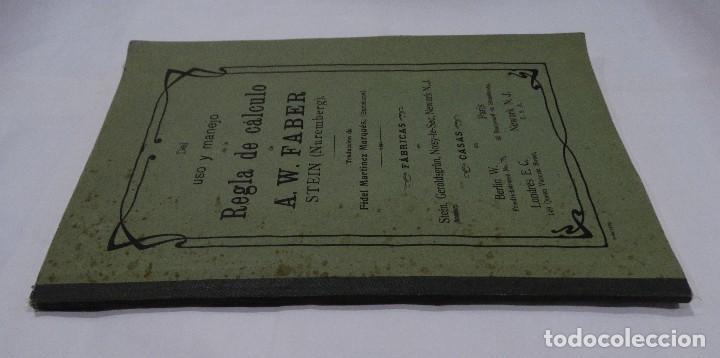 Libros antiguos: REGLA DE CÁLCULO A.W. FABER STEIN (NUREMBERG) 1909 - Foto 5 - 109471627