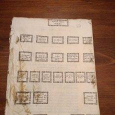 Libros antiguos: ESPARREGUERA I SANT PERE DE RIUDEBILLES, 49 FOLIS L'ANY 1650, ARBRE GENEALOGIC FAMILIA ESTEVE. Lote 109493875