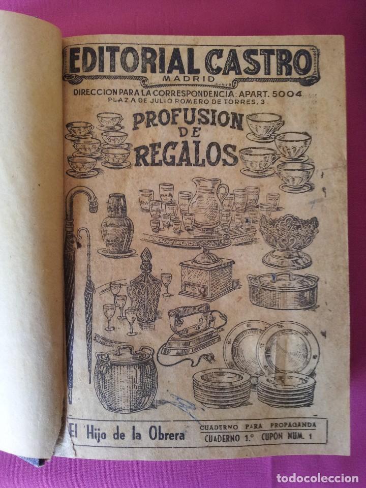 Libros antiguos: LUIS DEL VAL - EL HIJO DE LA OBRERA CON ILUSTRACIONES DE ALFONSO VALCARCEL - EDITORIAL CASTRO 1930 - Foto 2 - 109510215