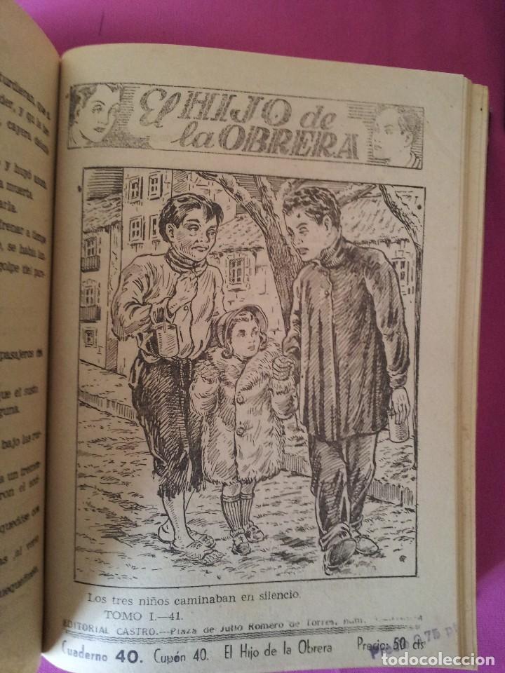 Libros antiguos: LUIS DEL VAL - EL HIJO DE LA OBRERA CON ILUSTRACIONES DE ALFONSO VALCARCEL - EDITORIAL CASTRO 1930 - Foto 3 - 109510215
