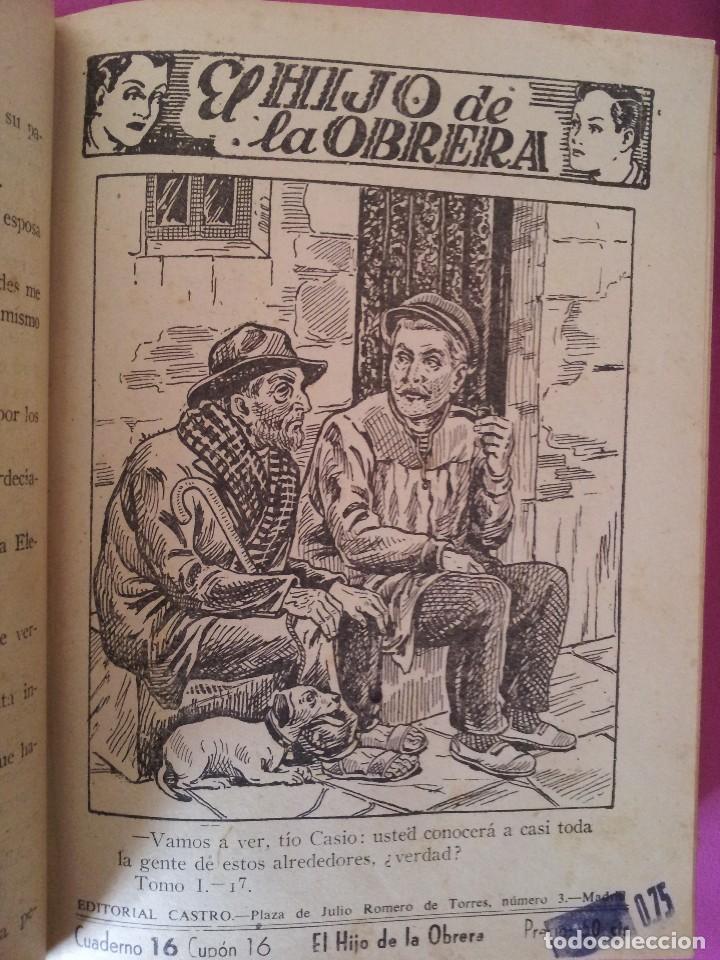 Libros antiguos: LUIS DEL VAL - EL HIJO DE LA OBRERA CON ILUSTRACIONES DE ALFONSO VALCARCEL - EDITORIAL CASTRO 1930 - Foto 4 - 109510215