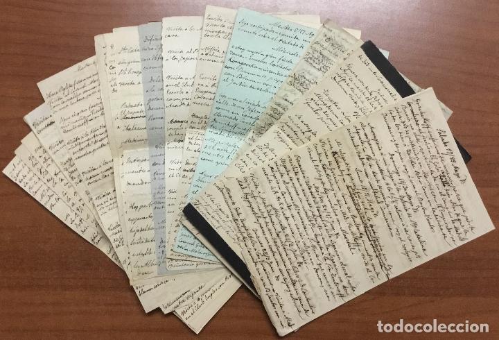 Libros antiguos: [Manuscrito] [BARRE DE FLANDES, Agustín de la] SAN PETERSBURGO. LIBRO Nº 3 DE NOTAS E IMPRESIONES... - Foto 7 - 109529351