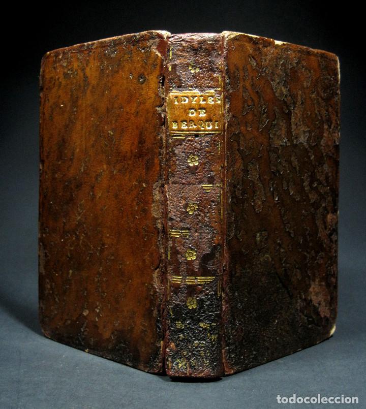 Libros antiguos: Año 1787 París Romances e Idilios de Berquin 2 tomos en un volúmen Grabados entre el texto - Foto 2 - 109541559
