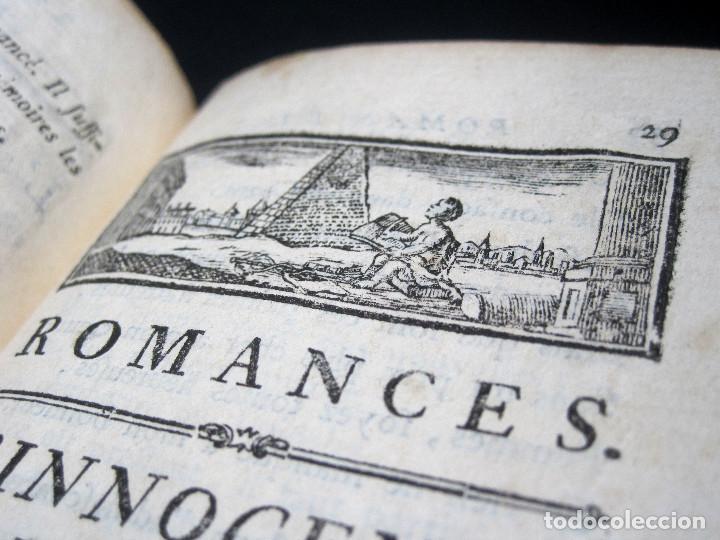 Libros antiguos: Año 1787 París Romances e Idilios de Berquin 2 tomos en un volúmen Grabados entre el texto - Foto 8 - 109541559