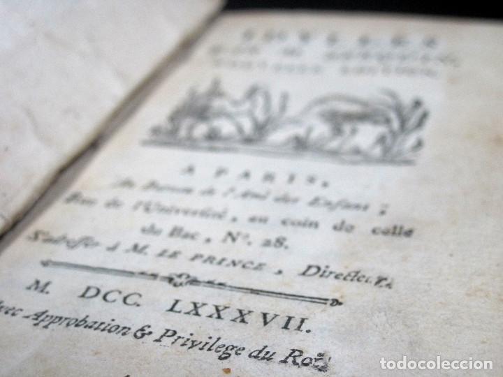 Libros antiguos: Año 1787 París Romances e Idilios de Berquin 2 tomos en un volúmen Grabados entre el texto - Foto 12 - 109541559