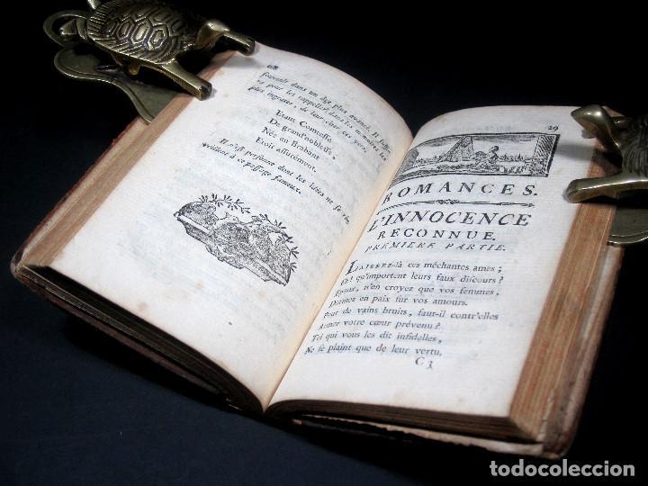 Libros antiguos: Año 1787 París Romances e Idilios de Berquin 2 tomos en un volúmen Grabados entre el texto - Foto 14 - 109541559