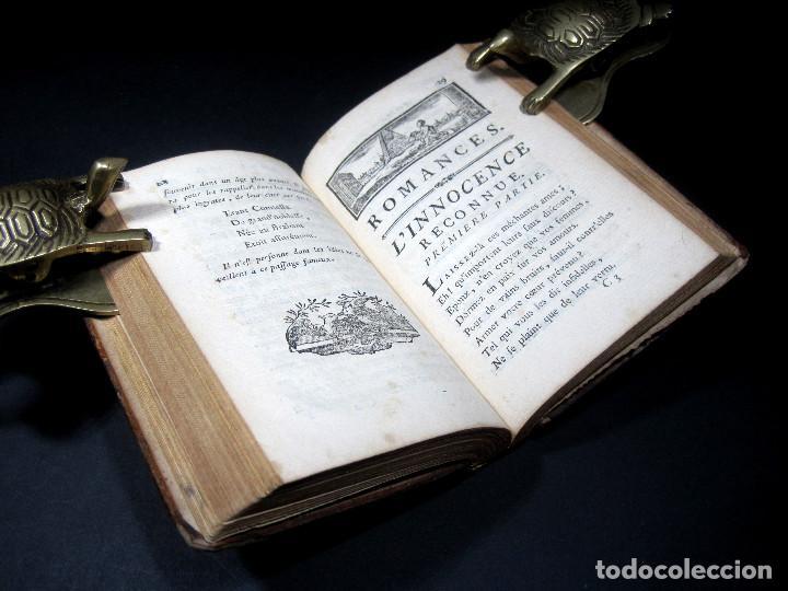 Libros antiguos: Año 1787 París Romances e Idilios de Berquin 2 tomos en un volúmen Grabados entre el texto - Foto 15 - 109541559