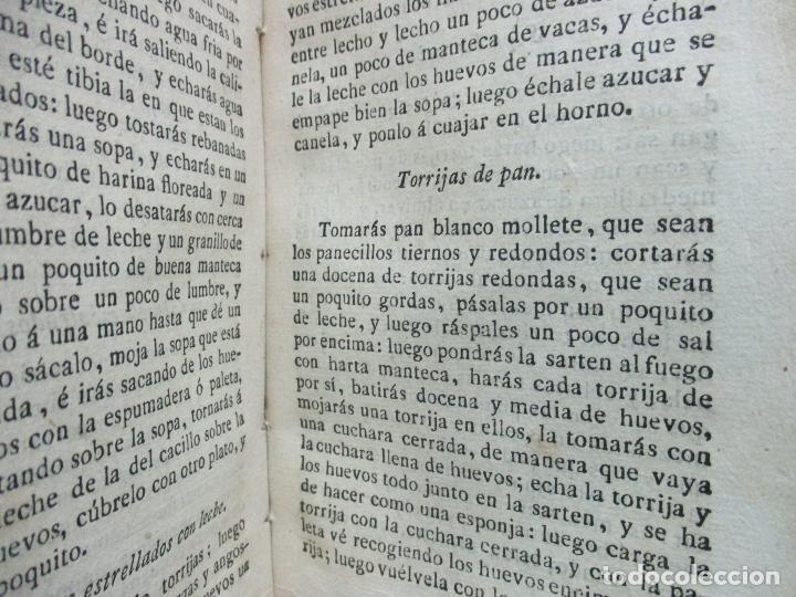 Libros antiguos: ARTE DE COCINA, PASTELERIA, VIZCOCHERIA, Y CONSERVERIA. FRANCISCO MARTINEZ MONTIÑO. 1822. - Foto 8 - 109587235
