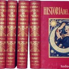 Libros antiguos: HISTORIA DEL MUNDO / POR J. PIJOAN (JOSÉ PIJOÁN) . 5 VOL. (1926-1941) 1ª ED. OBRA COMPLETA.. Lote 109767259