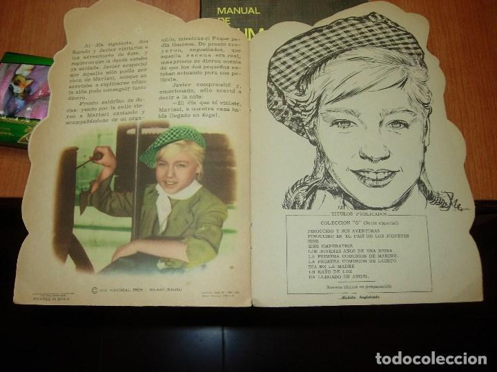 Libros antiguos: MARISOL HA LLEGADO UN ANGEL ( ver fotos ) - Foto 9 - 109920815