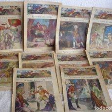 Libros antiguos: EL PAJE DE LA PRINCESA CON 10 NÚMEROS. Lote 110075223