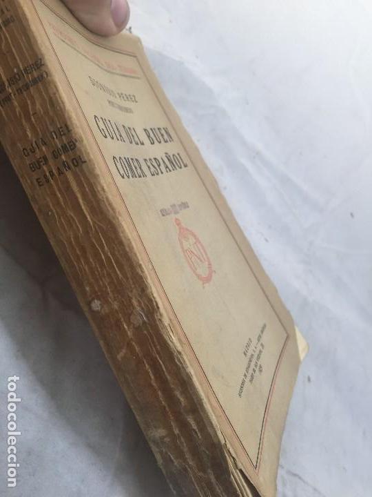Libros antiguos: Guia Buen comer Español 1929 Dionisio Perez Patronato Turismo República Española Intonso - Foto 3 - 110083551