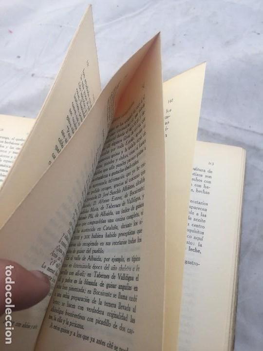 Libros antiguos: Guia Buen comer Español 1929 Dionisio Perez Patronato Turismo República Española Intonso - Foto 10 - 110083551