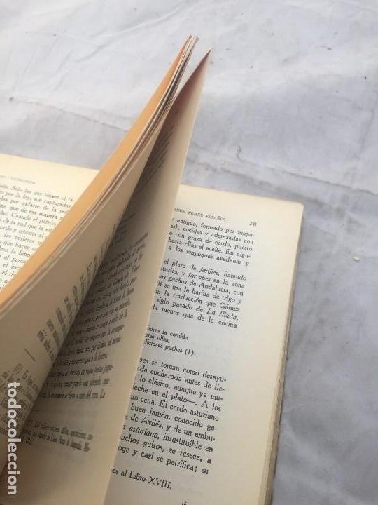 Libros antiguos: Guia Buen comer Español 1929 Dionisio Perez Patronato Turismo República Española Intonso - Foto 12 - 110083551