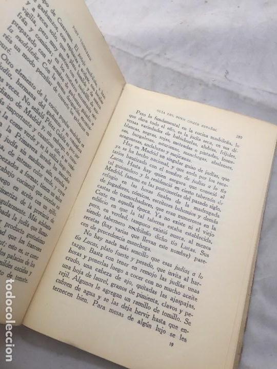 Libros antiguos: Guia Buen comer Español 1929 Dionisio Perez Patronato Turismo República Española Intonso - Foto 13 - 110083551